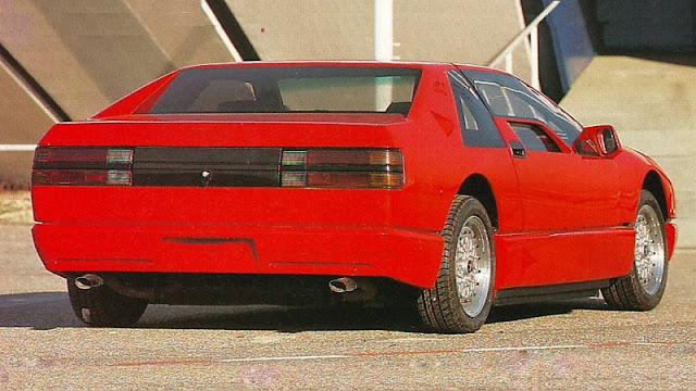Charade Monza rear