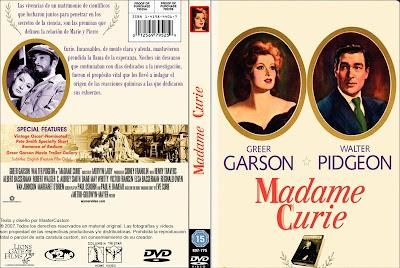 Carátula dvd: Madame Curie (1943)