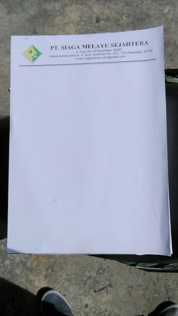 Bikin Kop Surat PT Siaga Melayu