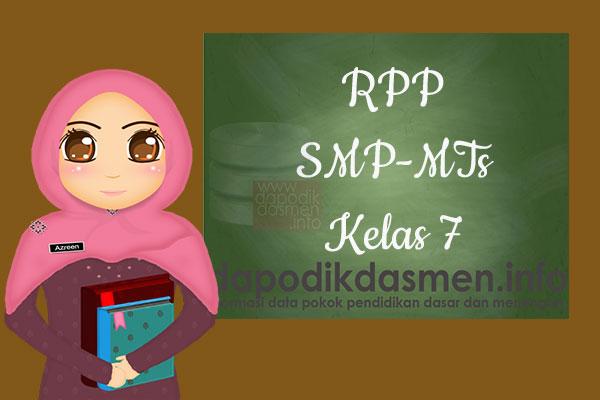 RPP K13 SMP/MTs Kelas 7 Semester 2 Lengkap Semua Mata Pelajaran, Download RPP Kurikulum 2013 SMP-MTs Kelas 7 Revisi Terbaru Semester 2, RPP Silabus Kelas 7 Semester 2