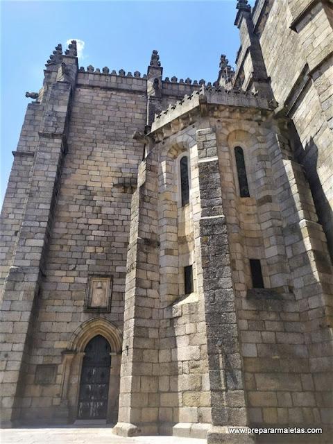 la catedral fortaleza de Guarda es imprescindible