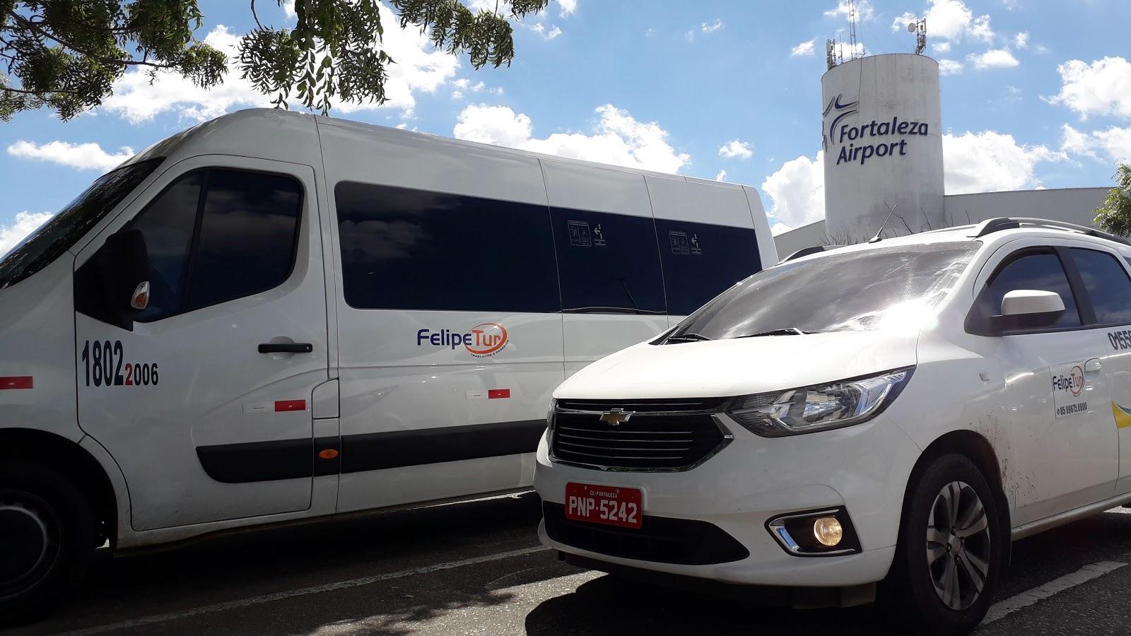 Empresa de traslados do aeroporto de fortaleza para o vila galé cumbuco