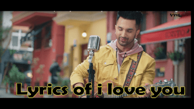 Lyrics of i love you | Akull | Punjabi