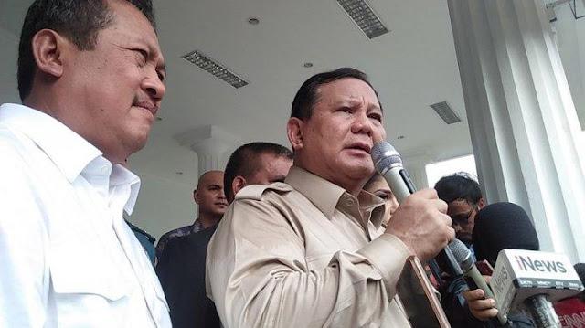 Ini Kata Menhan Prabowo soal Ledakan Granat Asap yang Lukai Dua Anggota TNI AD