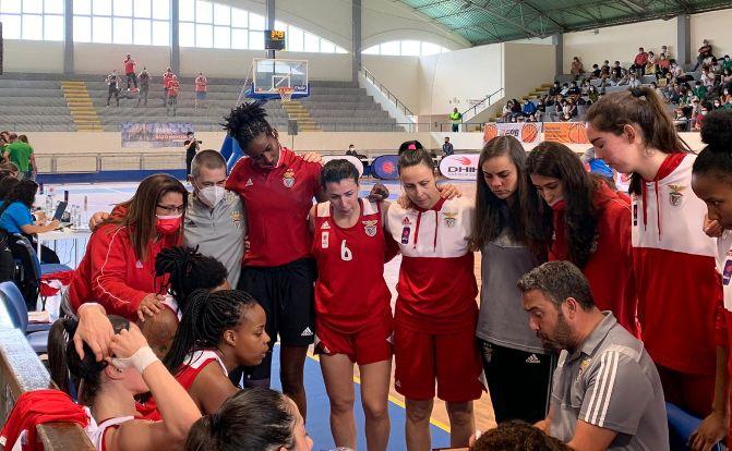 Benfica é Campeão Nacional de Basquetebol Feminino 2020/21