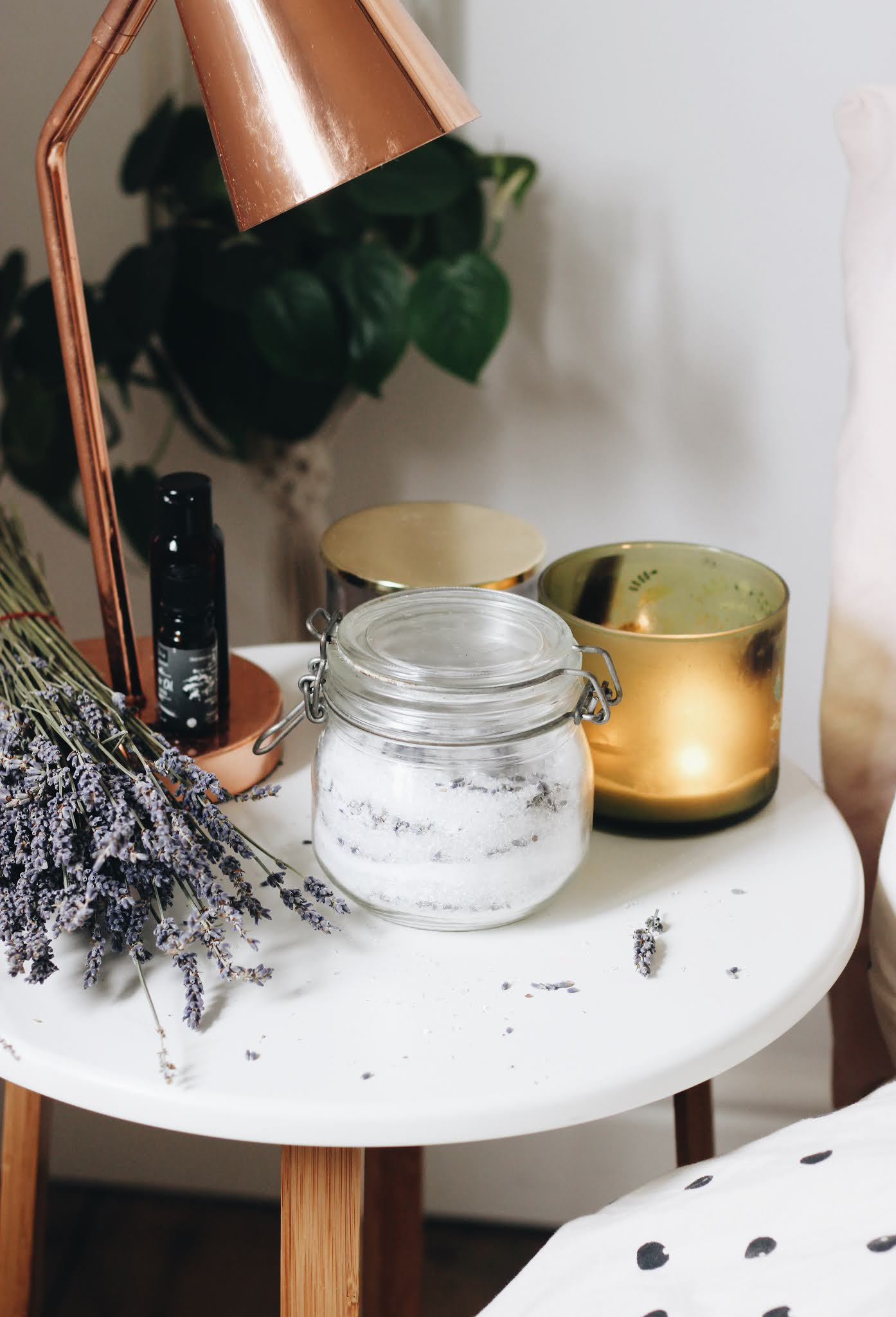 Lavender DIY Bath Soak Homemade