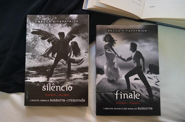 Livros Silêncio e Finale
