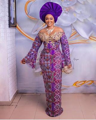 Mercy Aigbe's Ankara styles