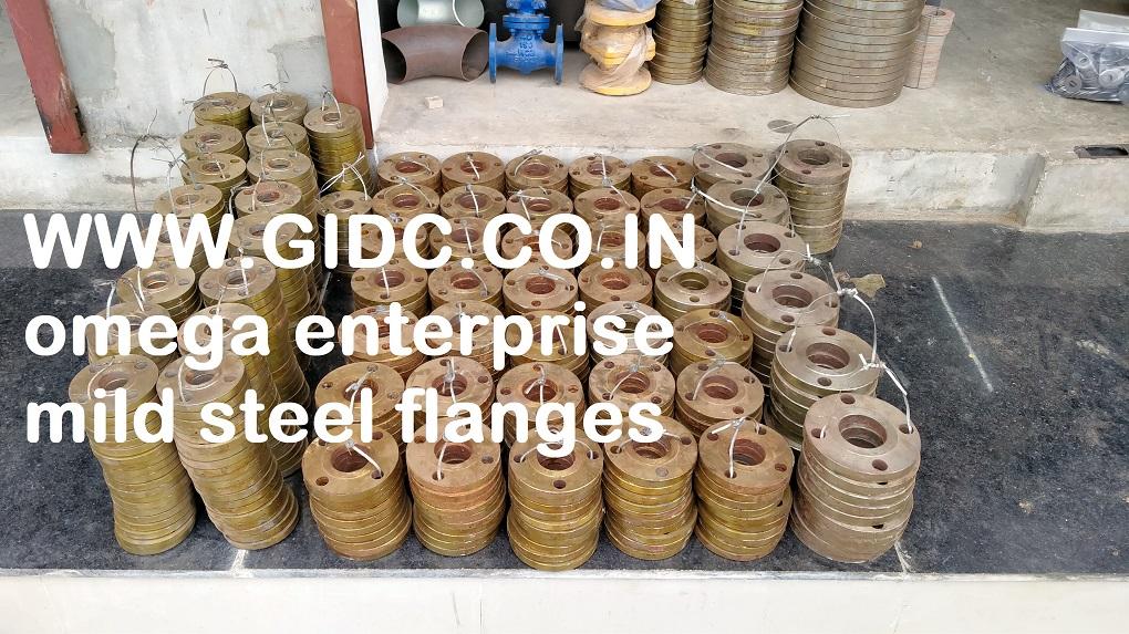 omega enterprise makarpura gidc mild steel flanges