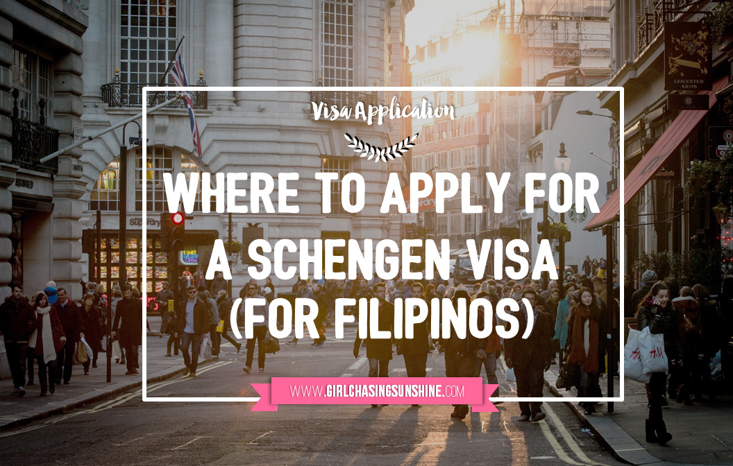 Where to Apply for a Schengen Short-Stay Visa