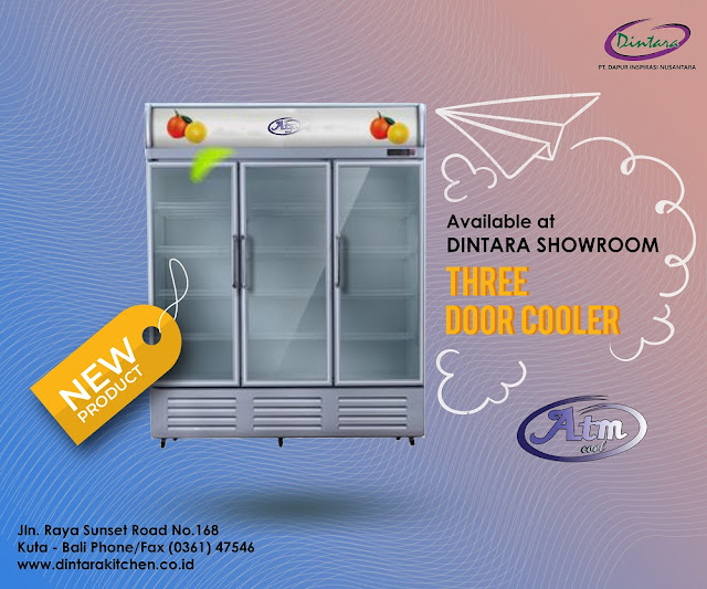 Three Door Cooler - ATM Cool 🆒