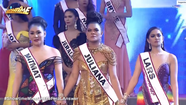 Watch Miss Q and A #ShowtimeMissQATheFinaLAnswer Grand Finals Winner