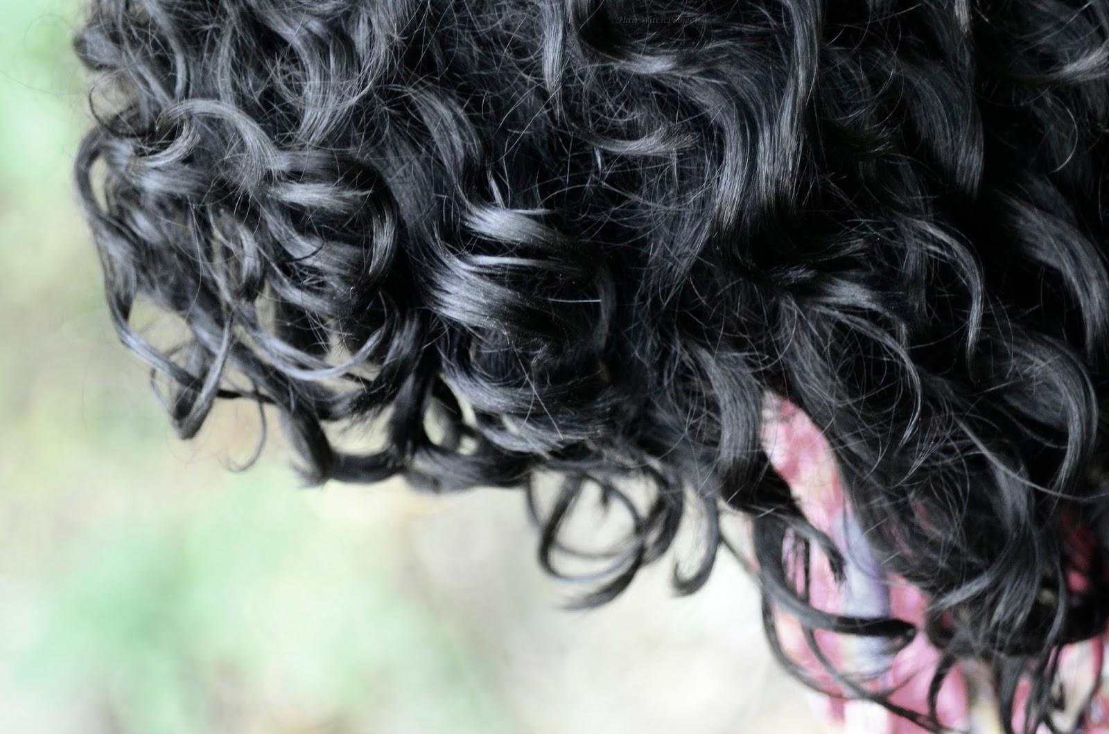 Włosowa Aktualizacja | loki | włosy | kręcone | czarne