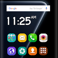 Launcher Samsung Galaxy A50 Theme Apk free for Android