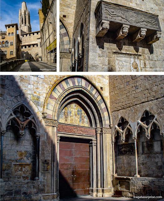 Igreja de Sant Feliu, Girona, Catalunha, Espanha