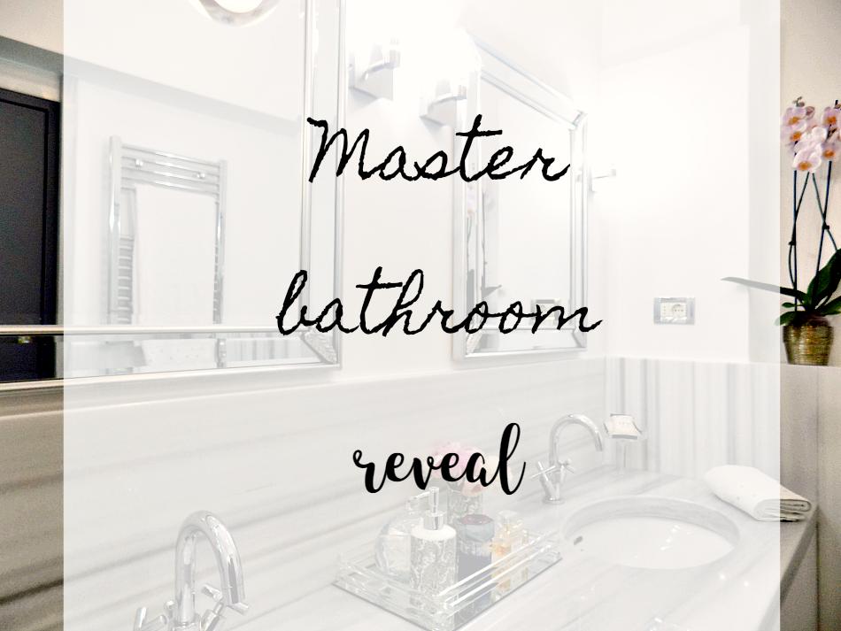 Η ανακαίνιση του masterbathroom στο καινούργιο σπίτι