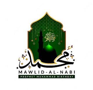 logo maulid nabi untuk spanduk banner png