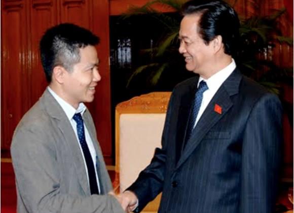 Ngô Bảo Châu gặp Thủ tướng Nguyễn Tấn Dũng