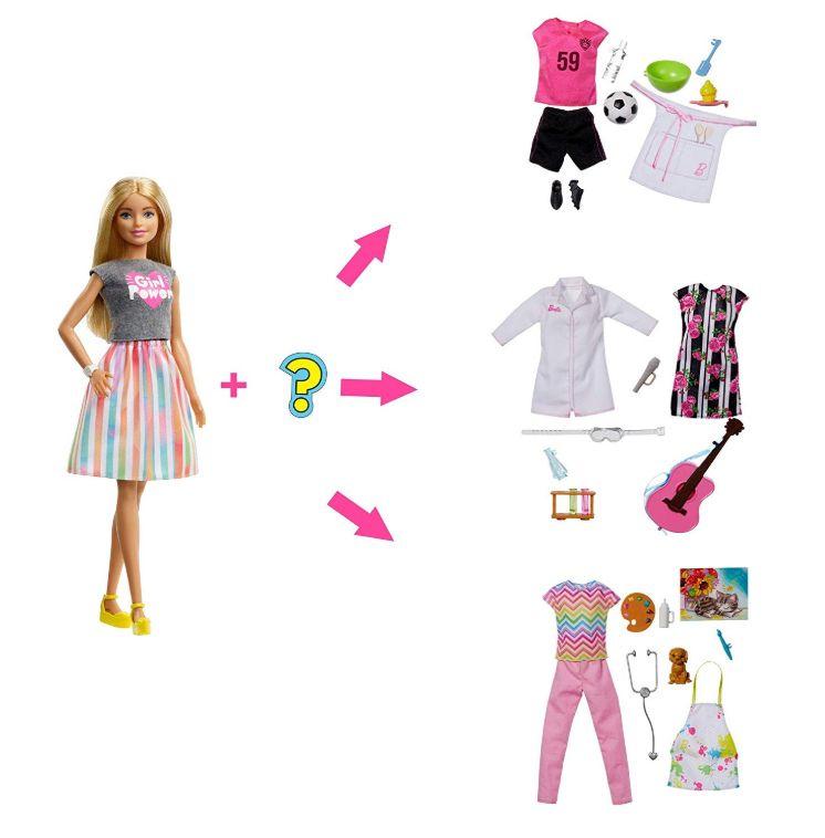 """Куклы Barbie из серии """"Профессии"""" сюрприз на Новый Год 2020"""