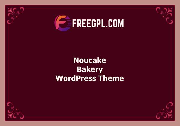 Noucake - Bakery WordPress Theme Free Download