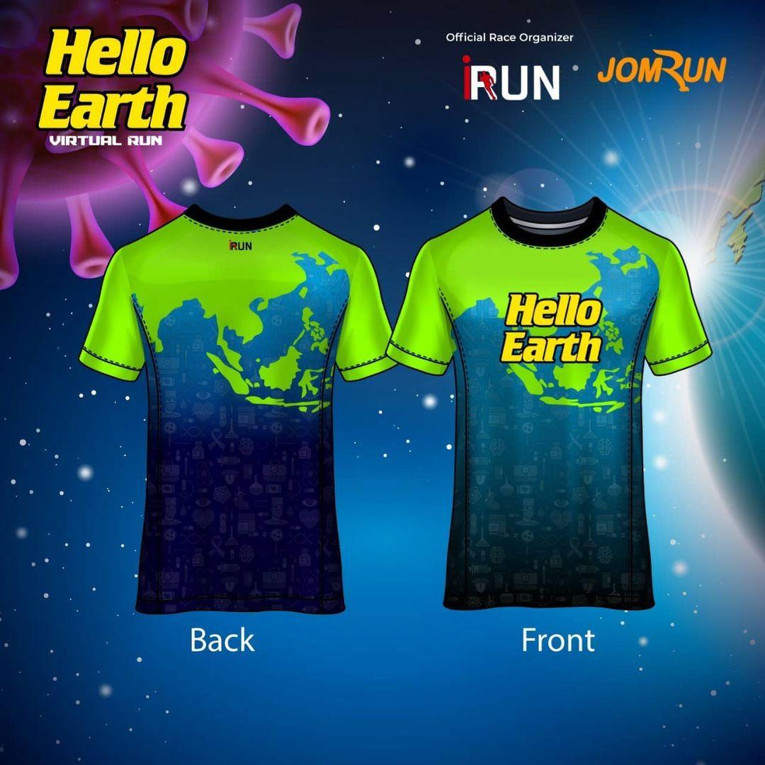 Running Tee 👕 Bali Virtual Half Marathon • 2021