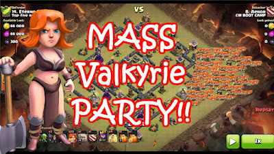 Valkyrie Clash of Clans