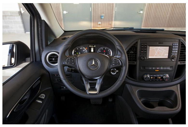 2019 Mercedes-Benz Metris Passenger Van Interior
