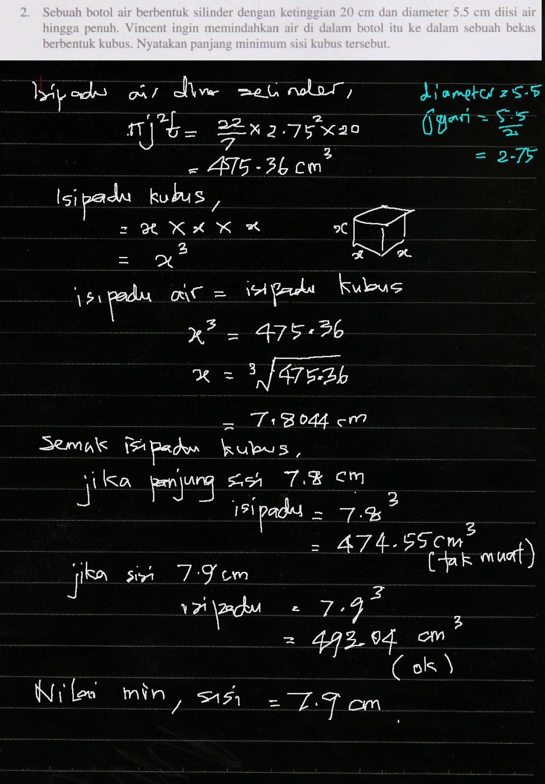 Cikgu Azman F2 Math Bab 6 Bentuk Geometri Tiga Dimensi Menjana Kecemerlangan