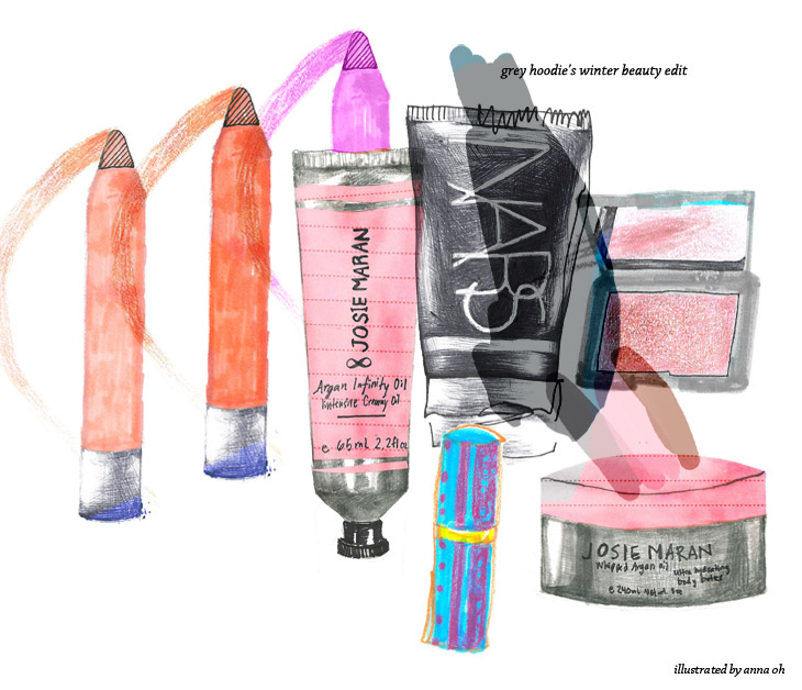 beauty product illustration