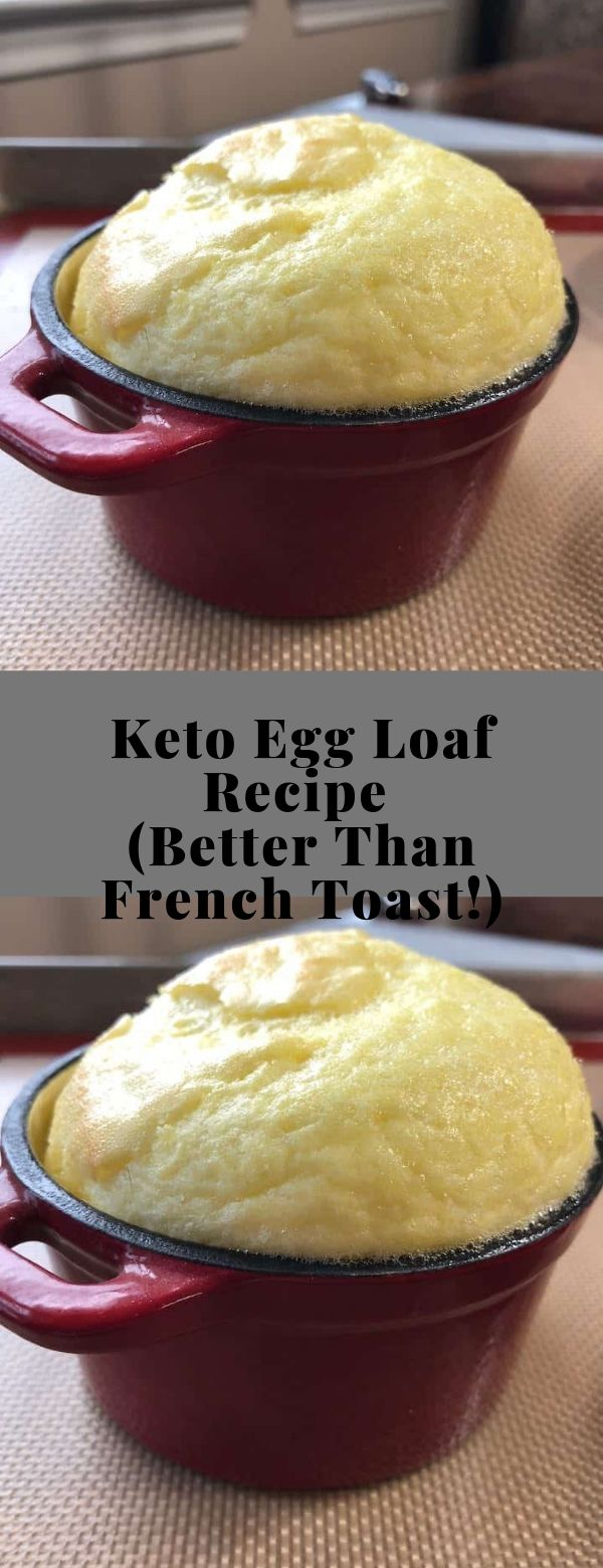 Keto Egg Loaf Recipe (Better Than French Toast!) #keto #vegetarian #glutenfree