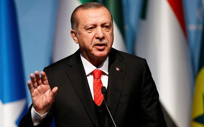 Ερντογάν: Η Ελλάδα αποδέχεται σιγά-σιγά το καθεστώς που κηρύξαμε στην Μεσόγειο