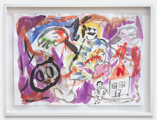 André Butzer Untitled, 2008 watercolor on paper