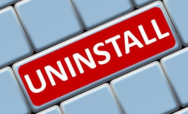7 Software uninstaller program PC