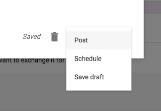 Announcement posting options in Google Classroom™  www.traceeorman.com