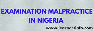 CAUSES, EFFECT AND SOLUTION OF EXAMINATION MALPRACTICE IN NIGERIA
