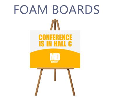 Foam Board Printing Custom