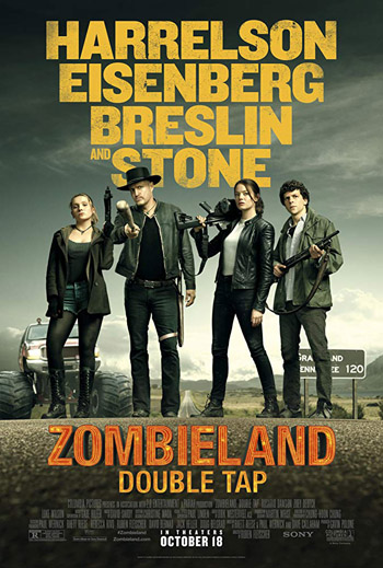 Zombieland 2 Double Tap 2019 English HDCam 720p 700MB Hindi Subbed