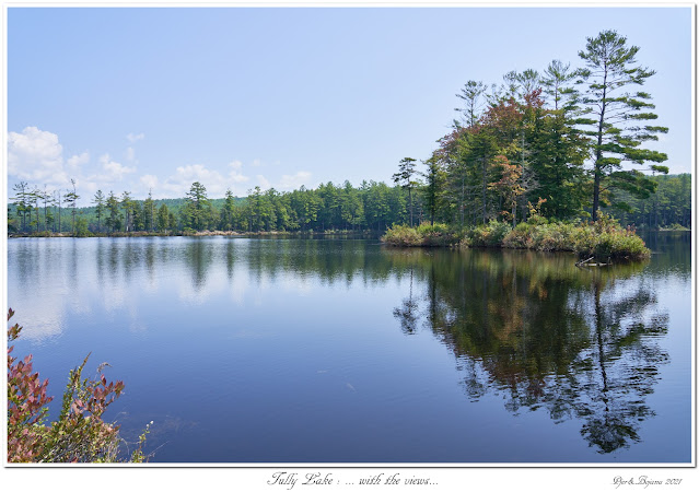 Tully Lake: ... with the views...