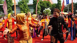 Spirit of Mojopahit Jadi Tema Sentral Kirab Budaya Mojobangkit