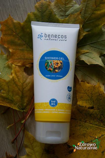 Benecos - Żel pod prysznic z rokitnikiem i pomarańczą