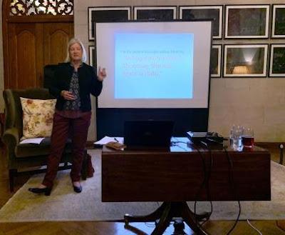 Jenny Hatton giving workshop