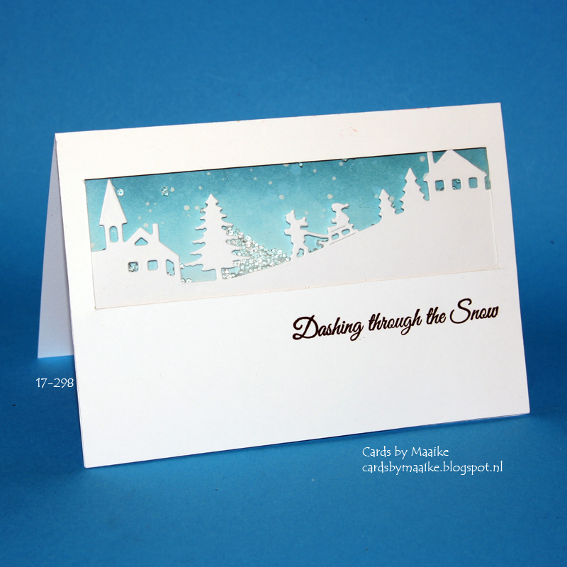 Cards by Maaike: Everyday Christmas Card series #15: diamond shaker ...