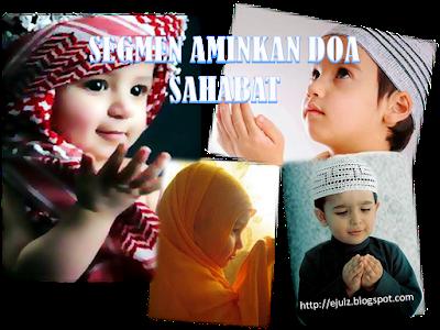 Segmen Aminkan Doa Sahabat, Blogger Segmen,