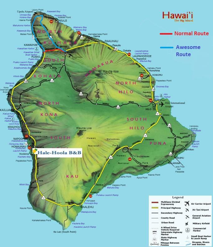 Waimea Big Island Tourist