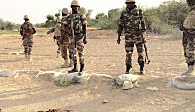 Breaking: B'Haram  explosives kill army commander, soldiers in Borno