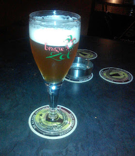 A lovely Belgian beer to start off with