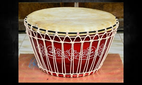Alat Musik Rebana Kalbar Custom