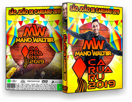 DVD - Mano Walter - no São João de Caruaru - ISO