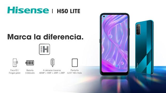 Hisense lanza el nuevo smartphone de la serie H: H50 Lite