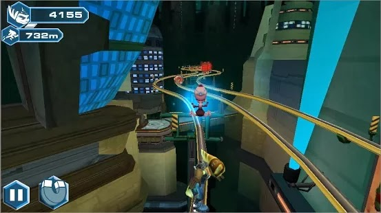 Ratchet and Clank : BTN, a new FREE game from Sony for Android smart phones and tablets